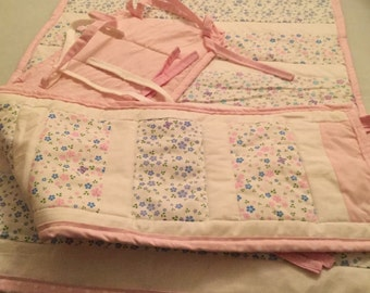 Baby Crib quilt and bumper