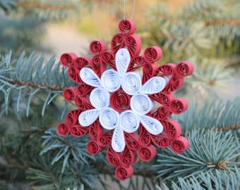 Christmas decoration/quilled paper onament