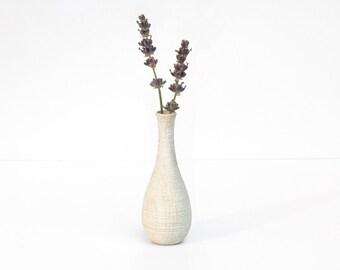 Wood vase Blanche