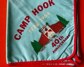 Vintage 1960's Camp Hook Neckerchief