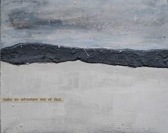 Landscape paintings, original unframed