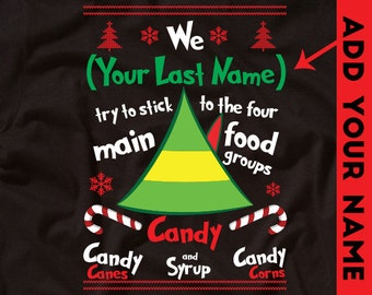 Personalized Christmas Shirt Elf Shirt Funny Christmas Party Holiday Shirt