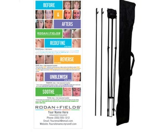 Rodan + Fields Trade Show Display