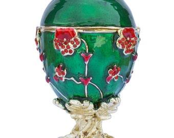 1899 Pansy Russian Faberge Egg- SKU # QB100915J1
