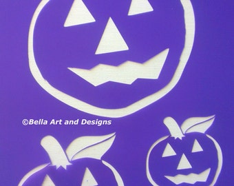 List 1 -  Assorted Halloween Stencils (Price is per photo/design) *Free gift with every order*