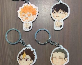 Haikyuu!! Karasuno High Key Chains