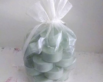Apple Harvest Soy Wax Tealights-Nine in a Organza Bag