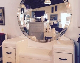 Art Deco Vanity & Mirror
