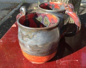 Mug, Old Gold and Red