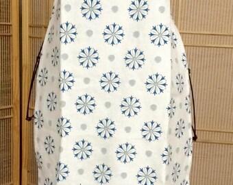 Full apron , chef style apron , flowered apron