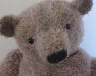 Herbert - Large OOAK Handmade Mohair Artist Bear