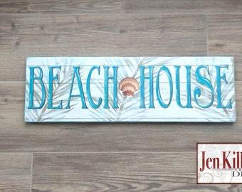 Beach House Wood Sign / Beach SignShore House Wood Sign / Beach House Art / Beach Themed Gift