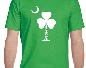 St. Patty's Day T-Shirt-Palmetto Shamrock
