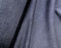 Modal rayon french terry fabric, dark grey jersey knit, sold by 1/2 yard