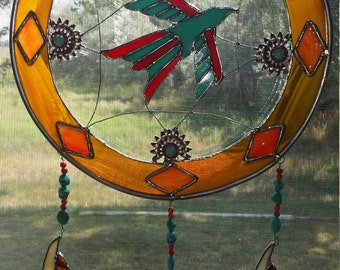Sun Catcher / Stained Glass / Dream Catcher