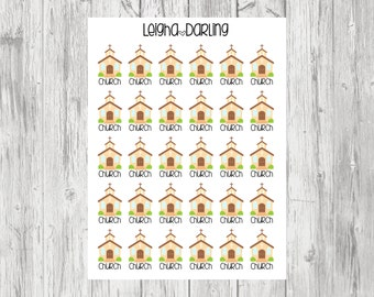 Church Planner Stickers