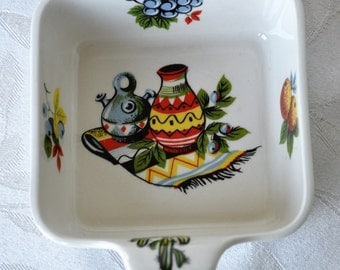 Lord Nelson Pottery Rio serving dish  1968