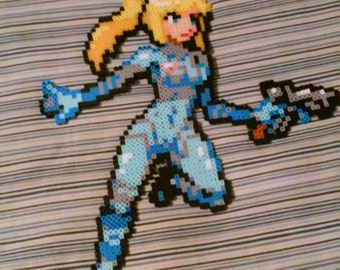 Zero suit Samus art