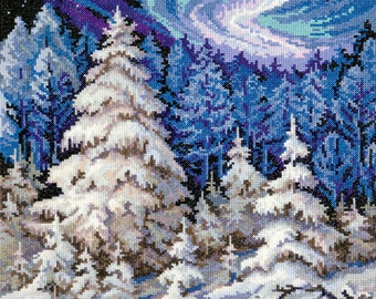 Cross Stitch Kit Forest