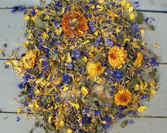 Natural Dried Flowers, Herbs, Potpourri, Petals CITRUS BLEND No3