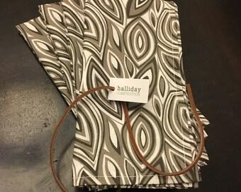 Eco-friendly 100% cotton napkins (Set of 4)