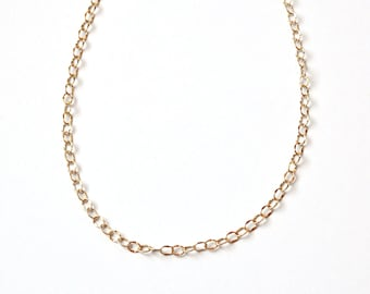 Simple Gold Necklace - Minimalist - Gold Necklace - Simple Jewelry