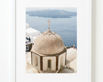 Church in Fira, Santorini - Fine Art Travel Photo Print