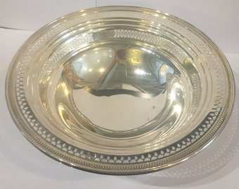 Sterling Silver Serving Bowl
