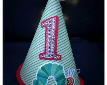 Caterpillar Birthday Party Hat