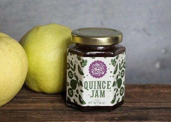 Quince Jam, Membrillo 12 oz.