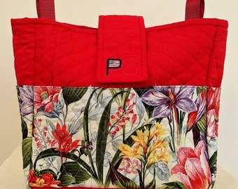 Wildflower Blast Walker Bag for Rollators