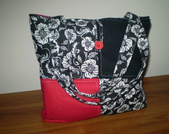 Patchwork Tote Bag - Handmade_Brand New