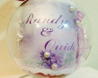 Personalized Wedding Ornament