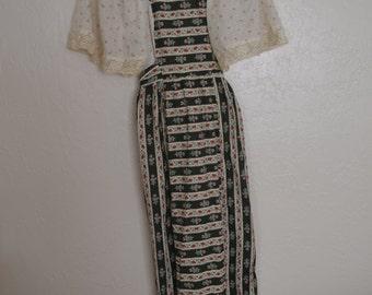 Vintage 70s gunne sax dress