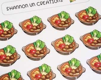 Hotpot Stickers Mini size(SUC#52)