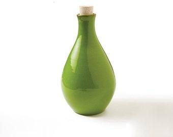 Ceramic bottle large, Water bottle, Wine bottle, stoneware, pottery, drinkware & barware, gift