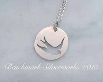 Silver Sparrow Pendant