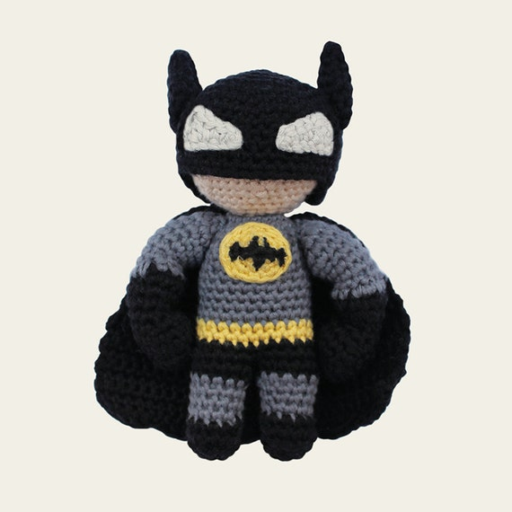 Batman - DC Comics. Amigurumi Pattern PDF.