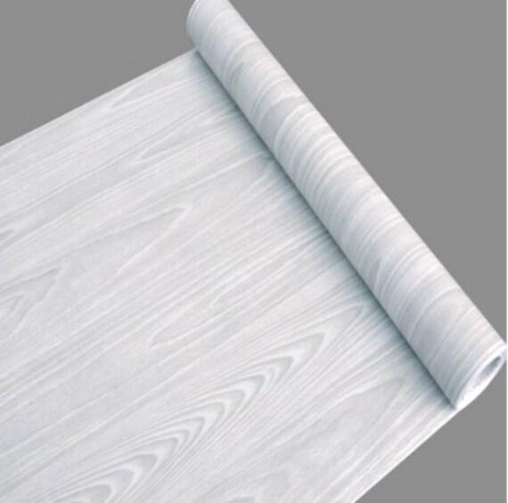 Whitewood Wood Grain Contact Paper Shelf Liner Self Adhesive