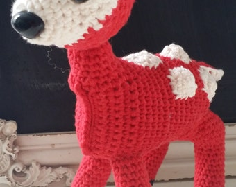 Hand Crocheted Bambi the Deer