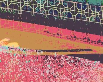 Modern Abstract Digital Art Print