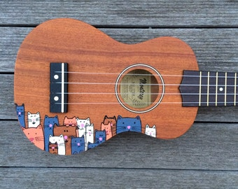 Crazy Cat Lady Ukulele