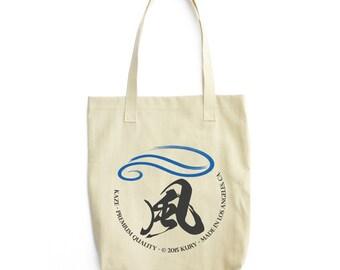Kanji Kaze Wind Maru AA E549 Cotton Tote
