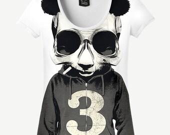 Bad Panda T-shirt, Bad Panda Shirt, Bad T-shirt, Bad Shirt, Women's T-shirt, Women's Shirt