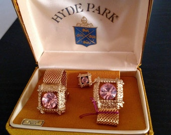 Vintage Hyde Park Cufflink Set