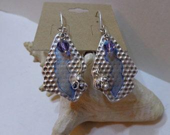 Unique Fine Silver Earrings