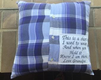 Comfort/ memorial cushion