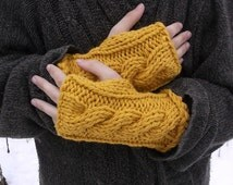 Summer sale. Fingerless gloves. Yellow fingerless gloves. Arm warmers. Hand warmers. Boho. Winter wear. Mittens. All colors available