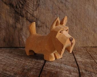 Scottish Terrier Carving