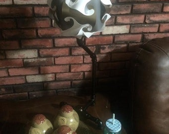 Industrial Pipe Lamp / you customize the shade